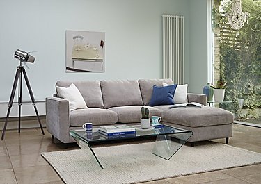 Esprit 3 Seater Fabric Sofa Bed in  on Furniture Village