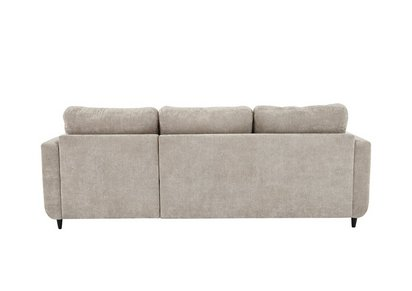 Esprit Fabric Chaise Sofa Bed with Storage - Furniture Village
