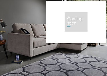 Esprit Fabric Chaise Sofa Bed with Storage in  on Furniture Village