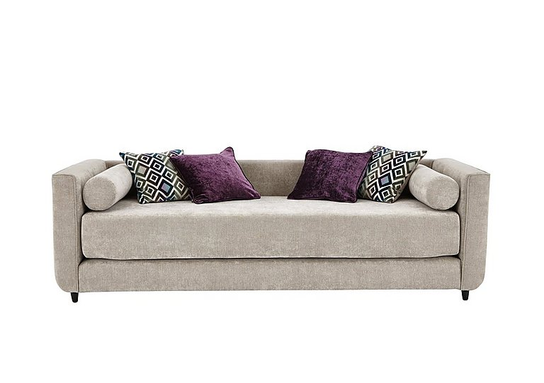 Esprit Daybed in Silver Ebony Feet on Furniture Village