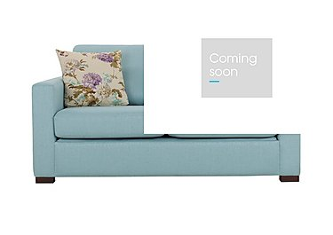 Petra 2 Seater Fabric Deluxe Sofa Bed in Marbella Turquiose 38 on Furniture Village