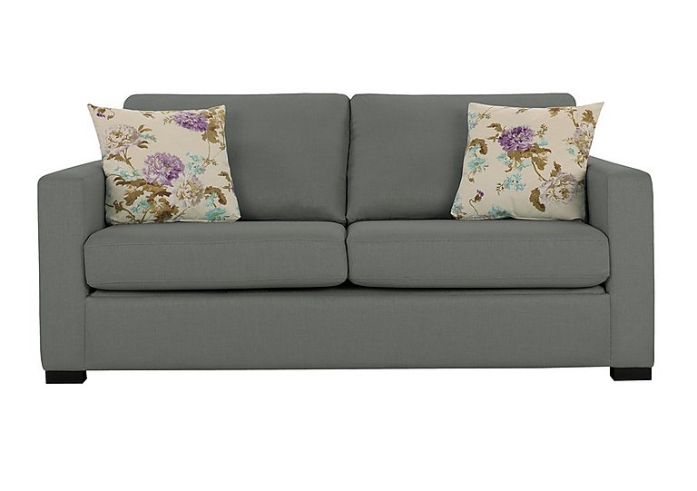 Petra 3 seater fabric sofa bed furniture village for Furniture village beds