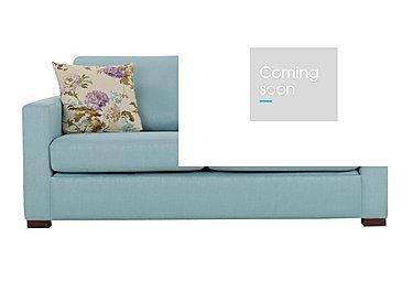 Petra 3 Seater Fabric Sofa Bed in Marbella Turquiose 38 on Furniture Village