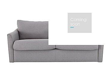 Venus 3 Seater Fabric Sofa Bed in Salta Ash on Furniture Village