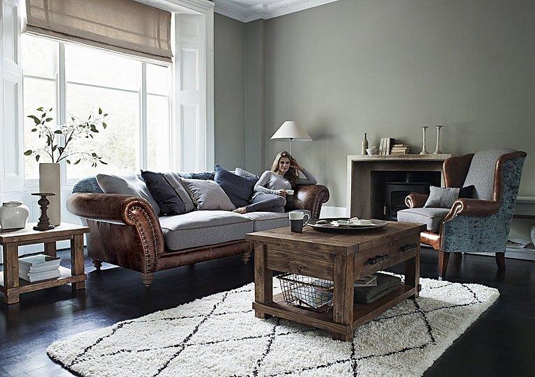 Westwood Leather Armchair Tetrad Furniture Village