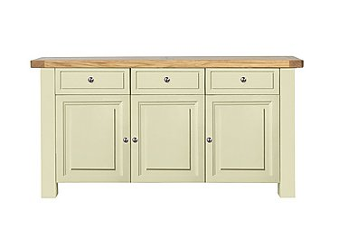 Bordeaux Painted Sideboard in Natural Monocoats on Furniture Village