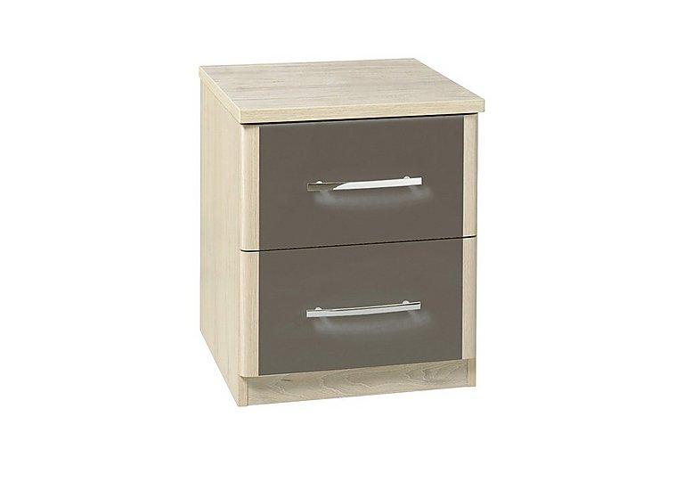 Kingsley 2 Drawer Chest in Atv - Tristan Grey on Furniture Village
