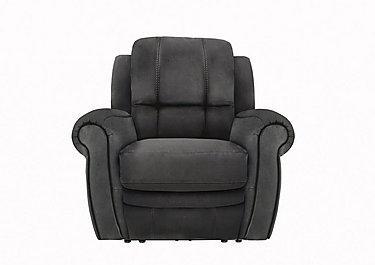 Arizona Fabric Recliner Armchair in Bfa-Blj-R16 Grey on Furniture Village