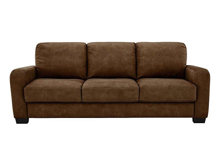 Astor 3 Seater Fabric Sofa in Bfa-Blj-R05 Hazelnut on Furniture Village