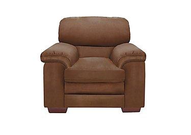 Carolina Fabric Armchair in Bfa-Blj-R05 Hazelnut on Furniture Village