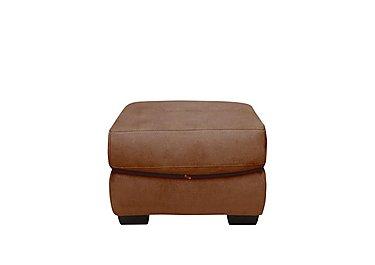 Carolina Fabric Storage Stool in Bfa-Blj-R05 Hazelnut on Furniture Village