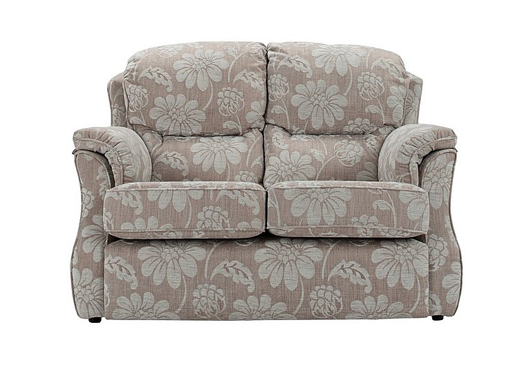 Florence 2 Seater Fabric Sofa in C650 Harmony Powder on Furniture Village
