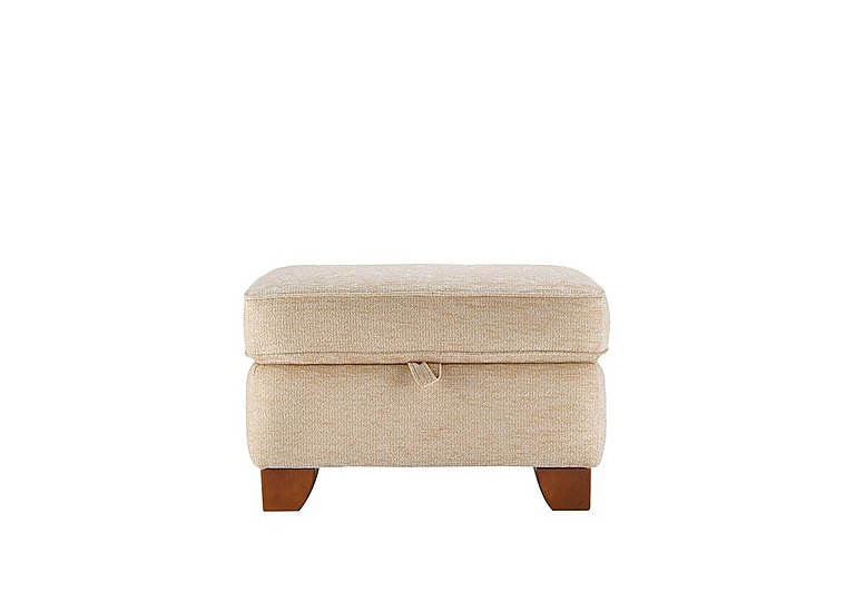 Gemma Fabric Footstool in A071 Boucle Oyster on Furniture Village