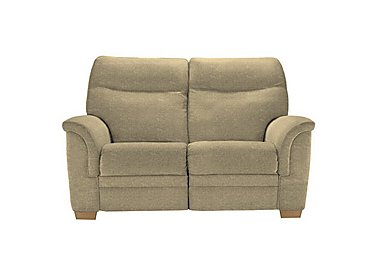Hudson 2 Seater Fabric Recliner Sofa in 050032-0090 Boucle Truffle on Furniture Village