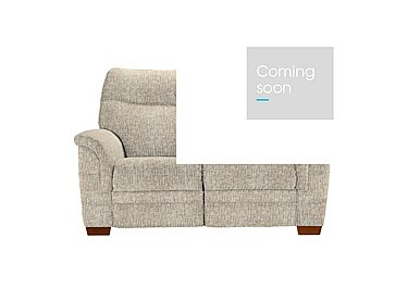 Hudson 2 Seater Fabric Recliner Sofa in Sabrina Beige on Furniture Village
