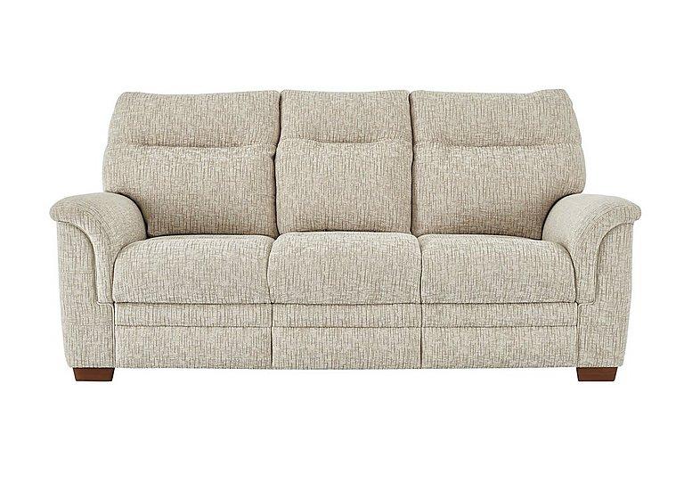 Hudson 3 Seater Fabric Sofa