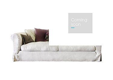 Lexington 4 Seater Fabric Sofa in Saville - Natural on Furniture Village