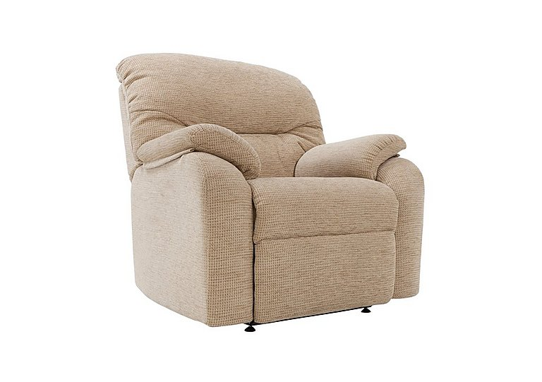 Mistral Fabric Recliner Armchair in  on Furniture Village
