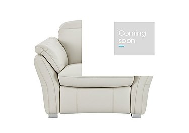 Mustang Leather Recliner Armchair in Nc-156e Frost on Furniture Village