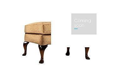 Penshurst Fabric Footstool in B50321-346 Jet Honey on Furniture Village