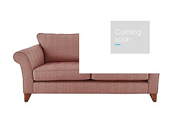 High Street Regent Street 3 Seater Fabric Sofa in Kentmere Orchid Pink on Furniture Village