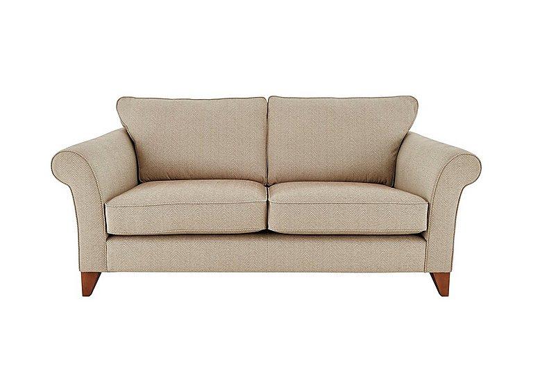 High street regent street 3 seater fabric sofa furniture for Furniture village sofa