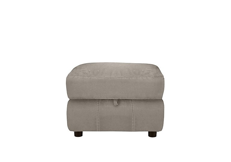 Relax Station Revive Fabric Storage Footstool in Bfa-Blj-R946 Silver Grey on Furniture Village