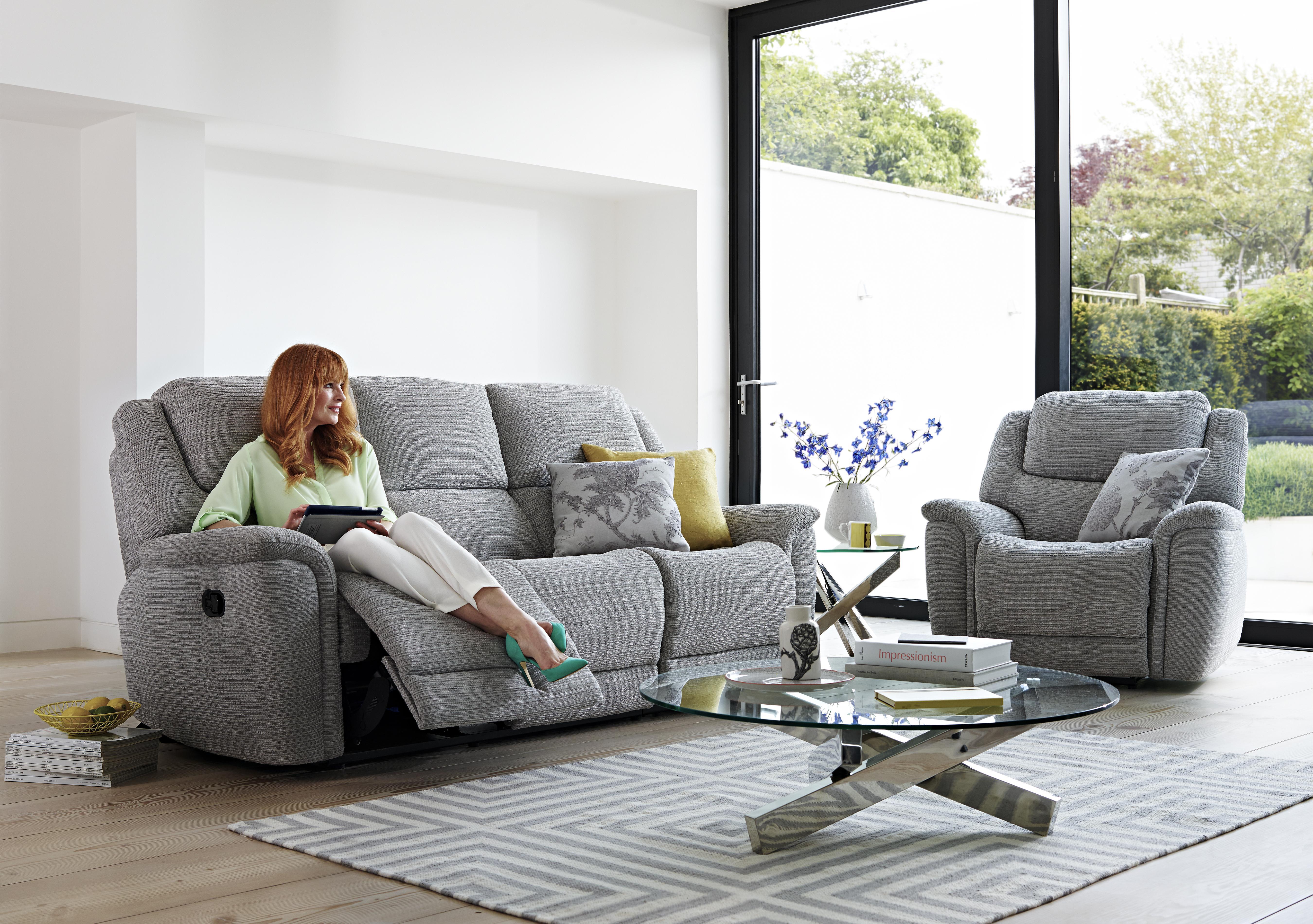 & Sheridan 2 Seater Fabric Recliner Sofa - Furniture Village islam-shia.org