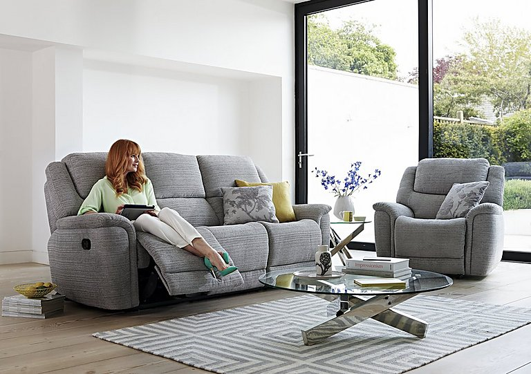 fabric recliner sofa. Sheridan Fabric Recliner Armchair Sofa Y