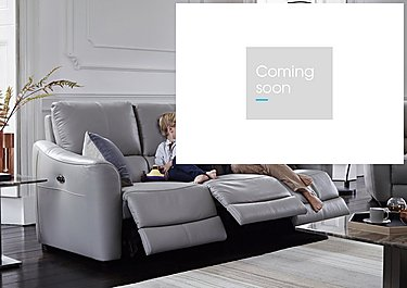 Trilogy 3 Seater Fabric Recliner Sofa in  on Furniture Village