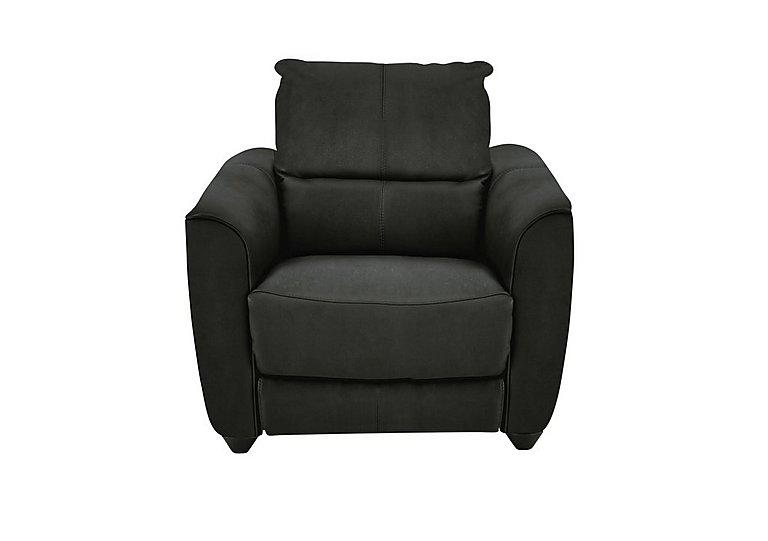Trilogy Fabric Recliner Armchair in Bfa-Blj-R16 Grey on Furniture Village