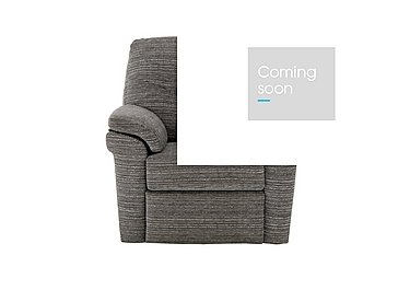 Washington Fabric Recliner Armchair in B902 Victoria Grey on Furniture Village
