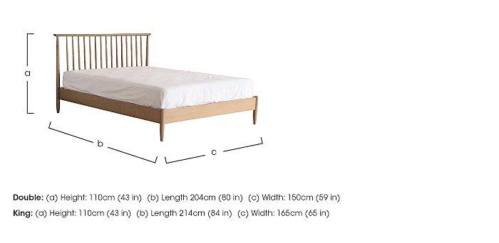Teramo Bed Frame in  on Furniture Village