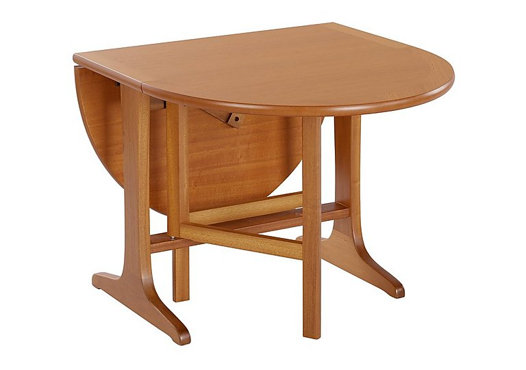 Classic Mini Gate Leg Table in Teak on Furniture Village
