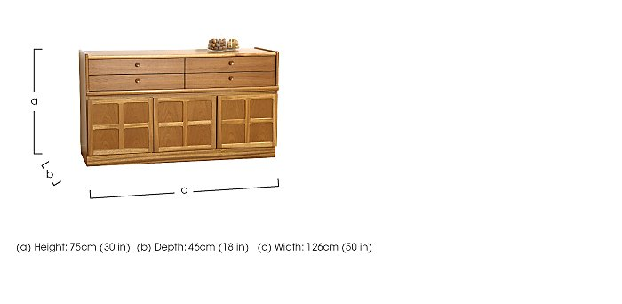 Classic Buffet Sideboard in  on Furniture Village