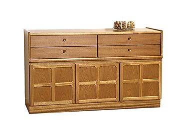 Classic Buffet Sideboard in Teak on Furniture Village