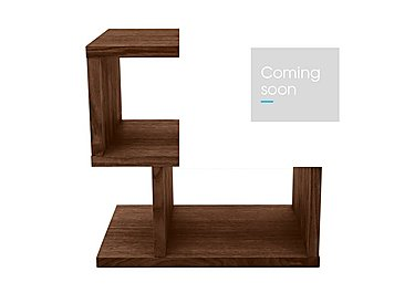 Elmari Lamp Table in Dark Finish on Furniture Village