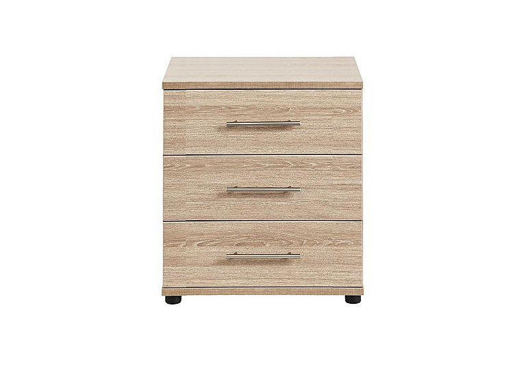 Amari 3 Drawer Wide Chest in Kkv - King Oak on Furniture Village
