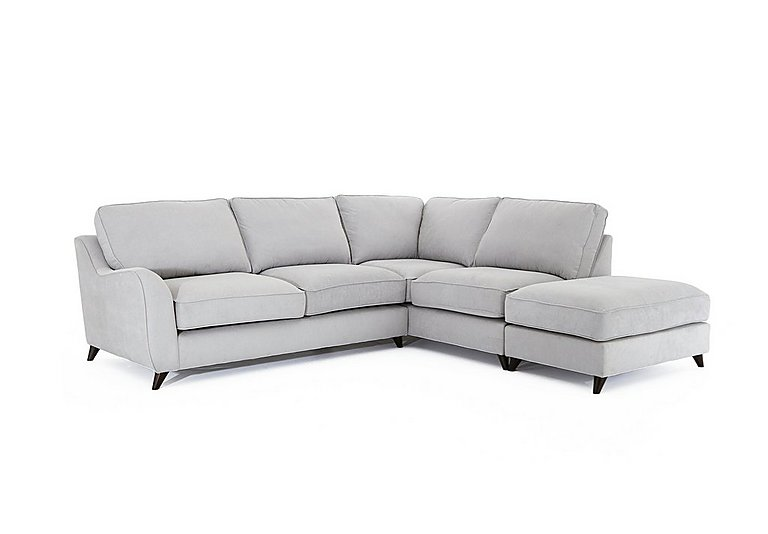 Carrara Fabric Pillow Back Corner Chaise Sofa  sc 1 st  Furniture Village : corner chaise sofa - Sectionals, Sofas & Couches