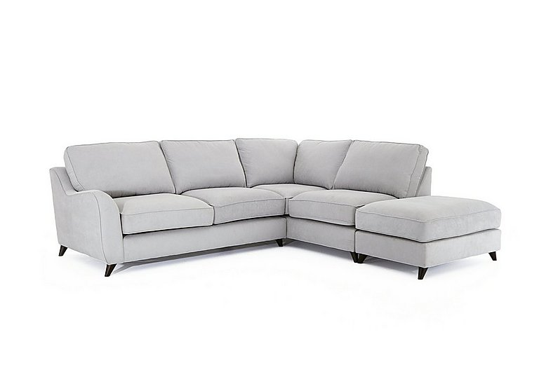 Carrara Fabric Corner Chaise Sofa