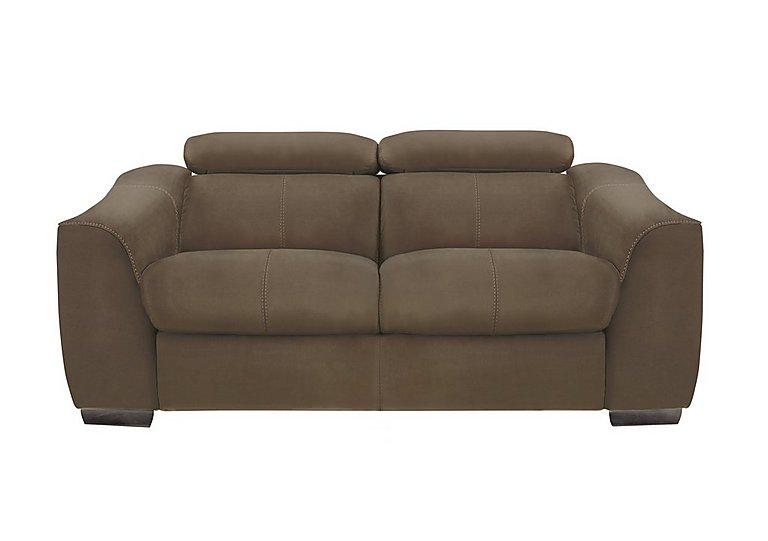 Elixir 2 Seater Fabric Recliner Sofa in Bfa-Blj-R04 Tobacco on Furniture Village