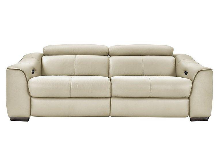 Elixir 3 Seater Leather Recliner Sofa