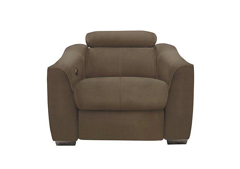 Elixir Fabric Recliner Armchair in Bfa-Blj-R04 Tobacco on Furniture Village