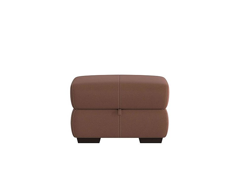 Elixir Fabric Storage Footstool in Bfa-Blj-R05 Hazelnut on Furniture Village