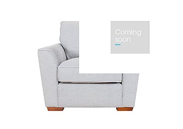 Fable Fabric Armchair in Barley Silver Light on Furniture Village