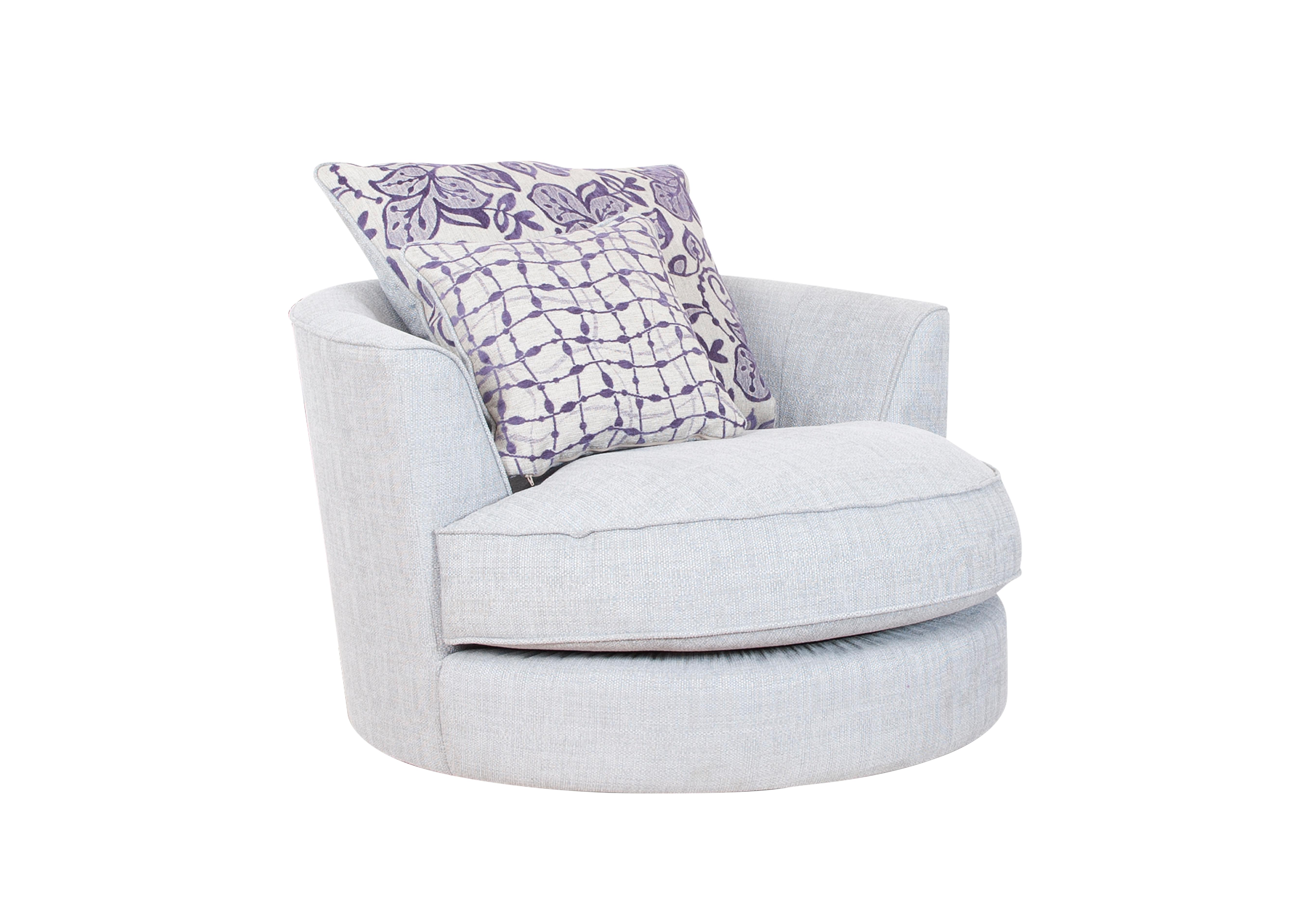 Fable Fabric Swivel Armchair Furniture Village