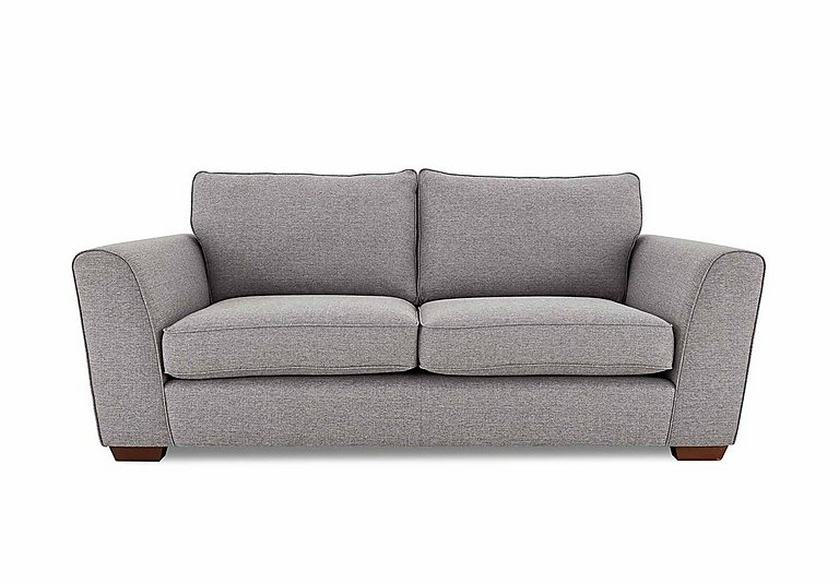 high street oxford street 3 seater fabric sofa bed
