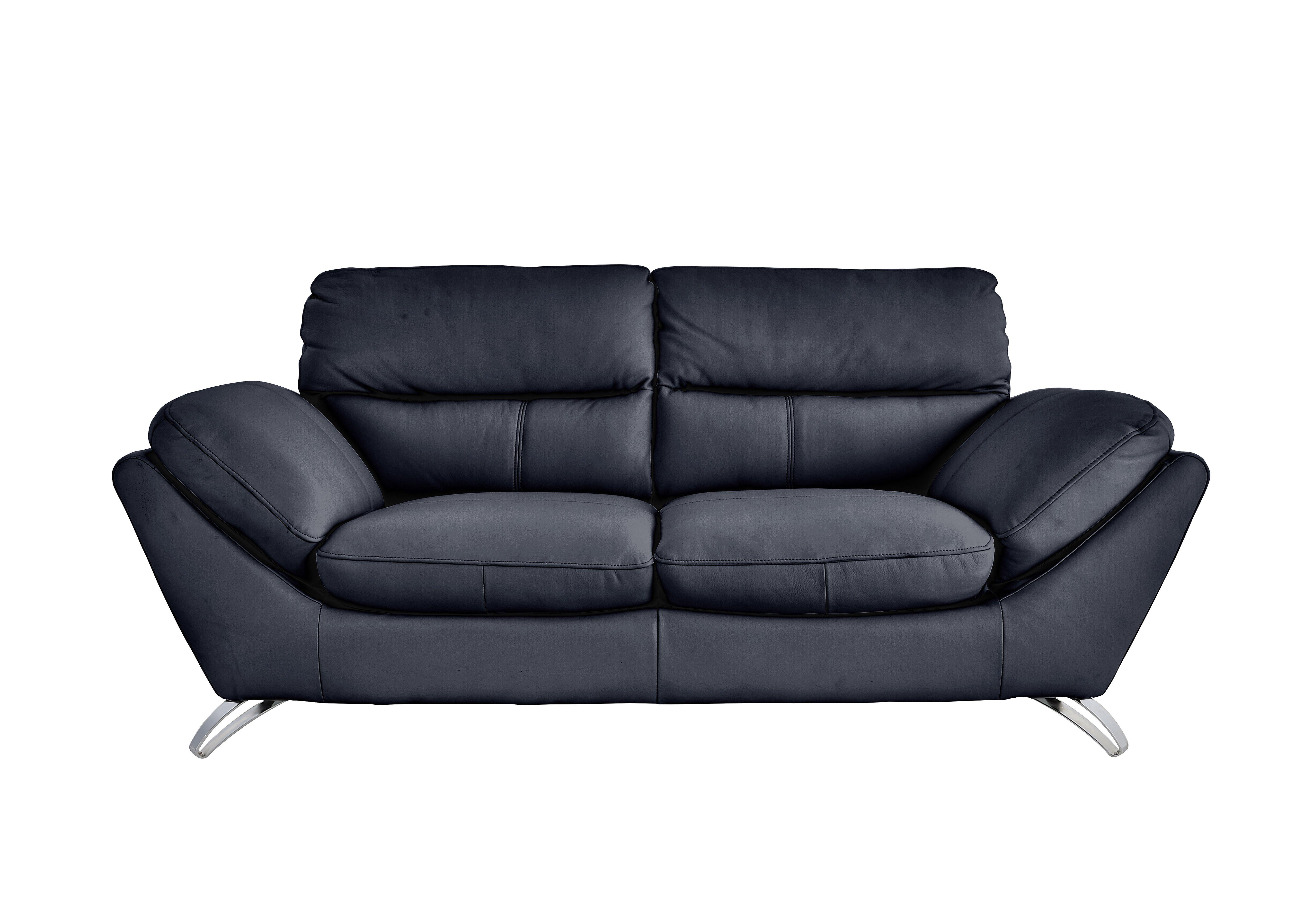 Salvador 3 Seater Leather Sofa Furniture Village ~ Black Leather Sofa Chair