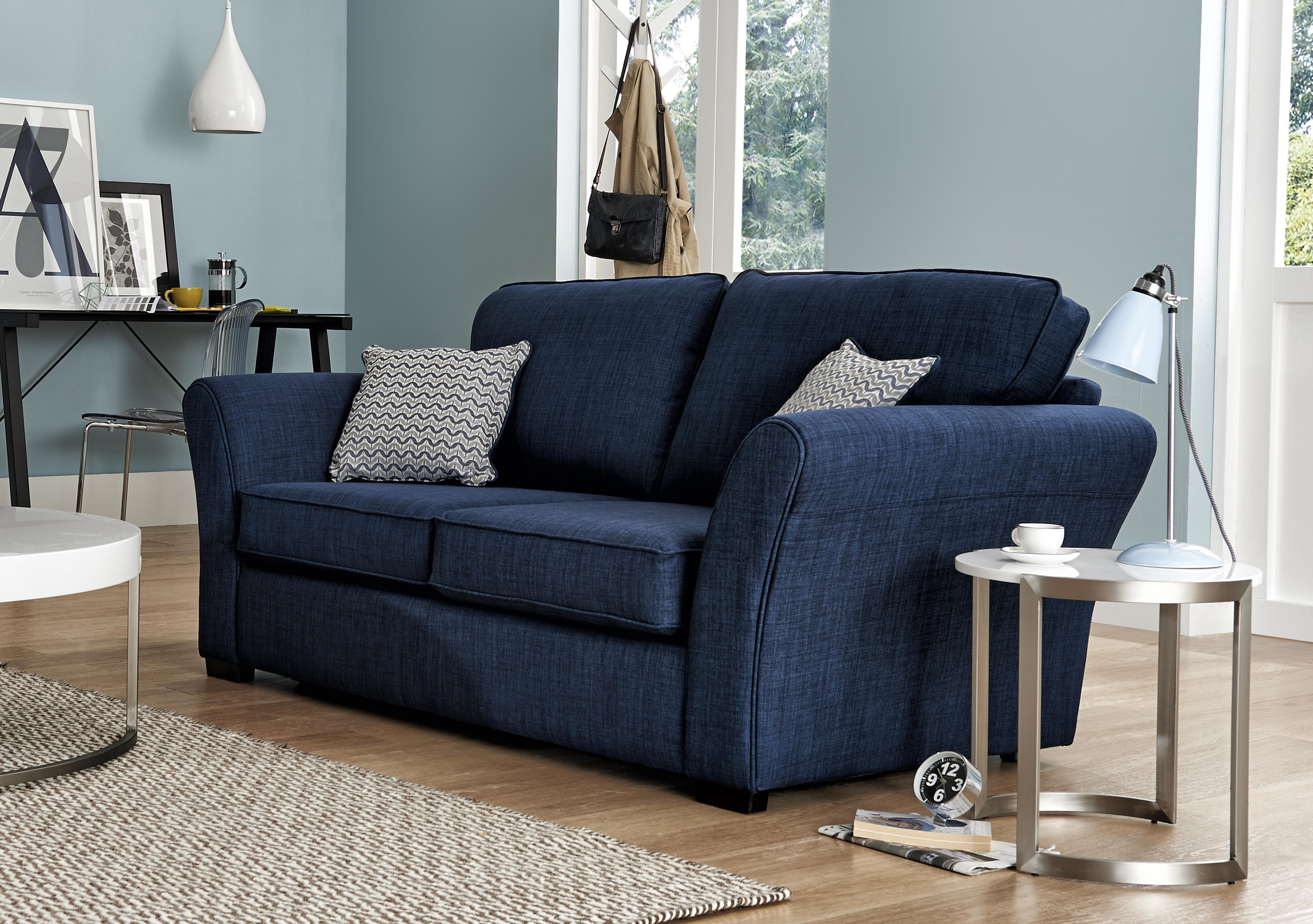 Great Twilight 2 Seater Fabric Sofa. Loading Images