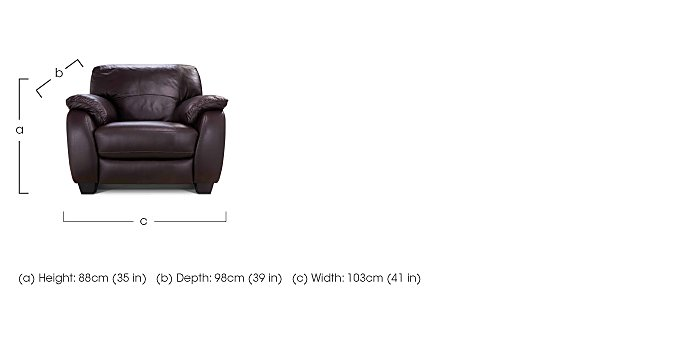 Moods Leather Recliner Armchair in  on Furniture Village